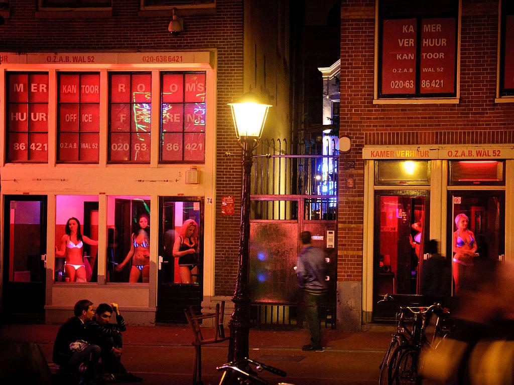 Улица красных фонарей на карте амстердама 7 фотография