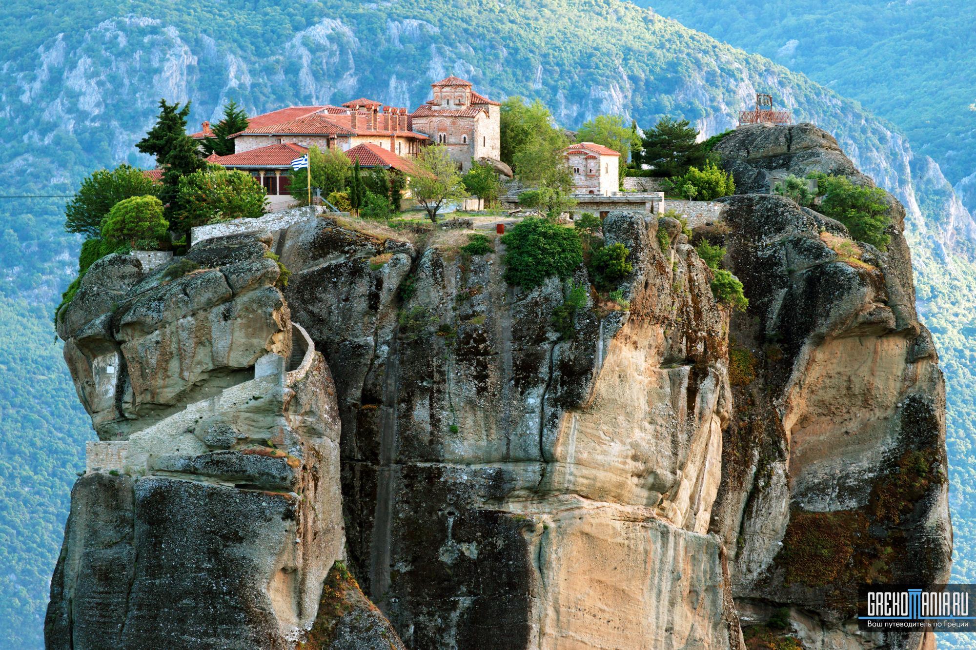 метеоры фото греция