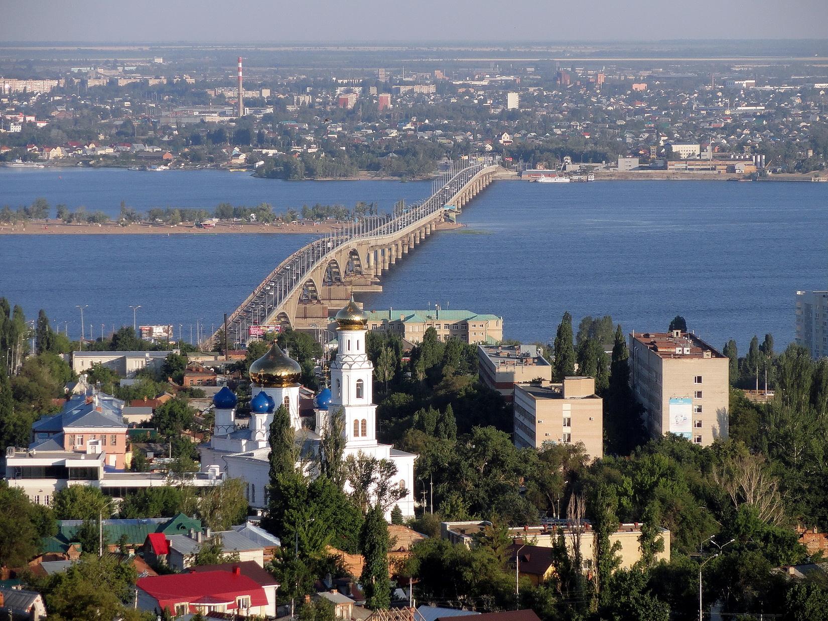 Фото моста энгельс саратов 6