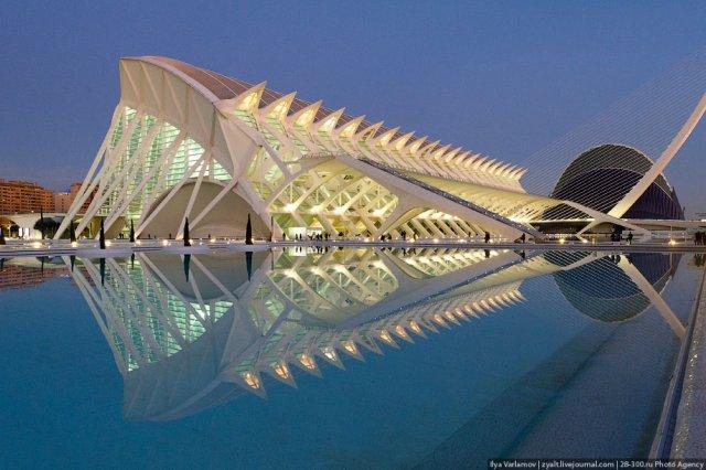 Город науки и искусства | BestMaps - спутниковые ... Валенсия Испания Карта