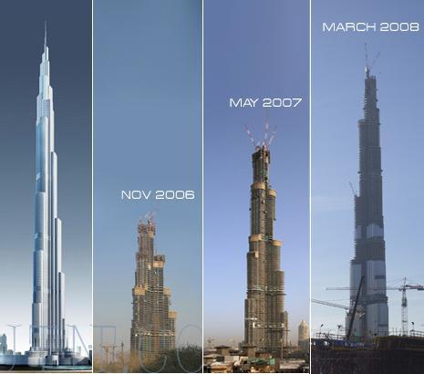 Башня Бурдж Халифа Дубай